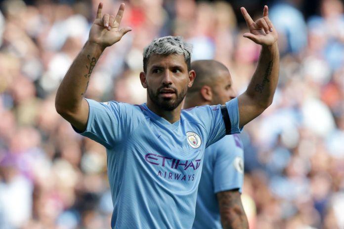 Sergio Aguero is Man City's record goalscorer
