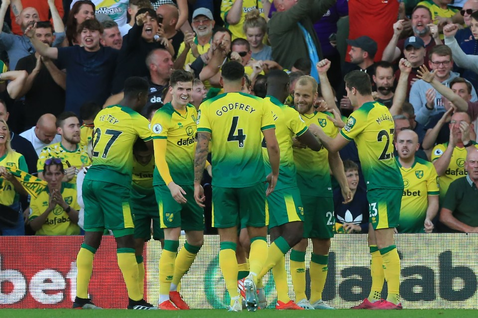 Pl On Citi Resilient Norwich City Stun Champions