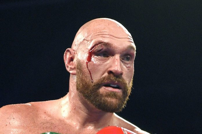 Tyson Fury's cut was gruesome and required 47 stitches