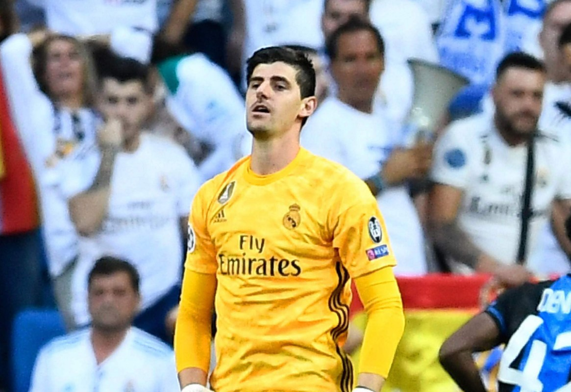 Thibaut Courtois Has Played 43 Games For Real Madrid But