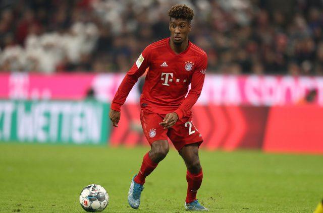 Kingsley Coman worked with Pep Guardiola at Bayern Munich