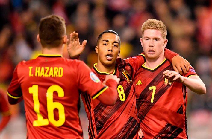 Belçika dünyanın en iyi kadrolarından birine sahip