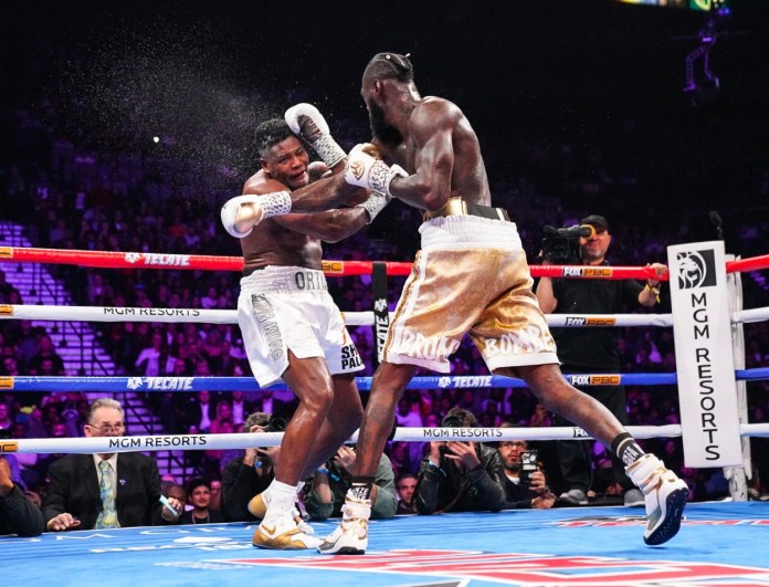 Wilder last fought in November as he knocked out Luis Ortiz