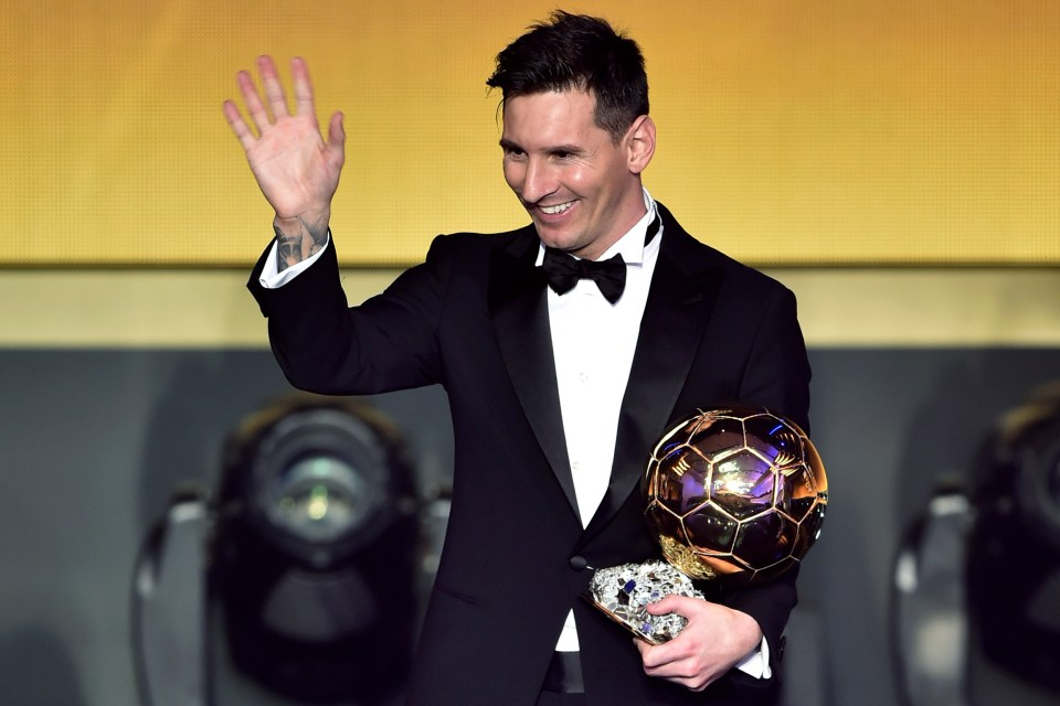 Messi has won it six times and could even add another in 2021