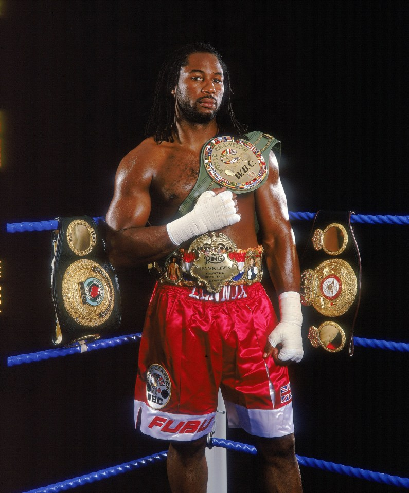 Lewis is the former undisputed heavyweight champion