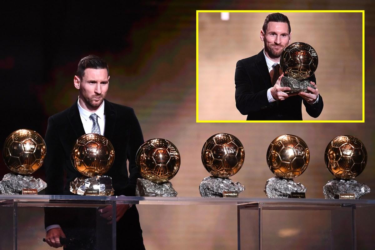 Lionel Messi Wins The Ballon D Or Barcelona Superstar