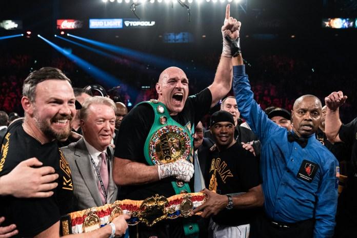 Tyson Fury is the WBC heavyweight world champion