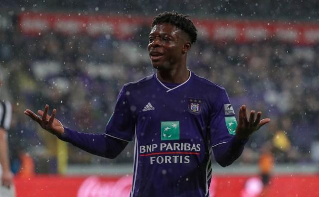 Liverpool failed to sign Anderlecht youngster Jeremy Doku in 2018, despite  Jurgen Klopp branding him the 'successor to Sadio Mane'
