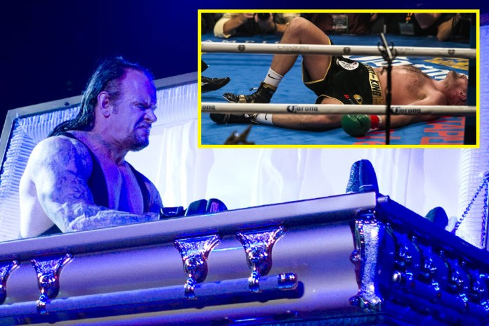 Fury rose like The Undertaker in his coffin, according to his cousin, Nathan Gorman