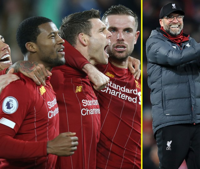 When Can Liverpool Win The Premier League Reds On Course To Beat
