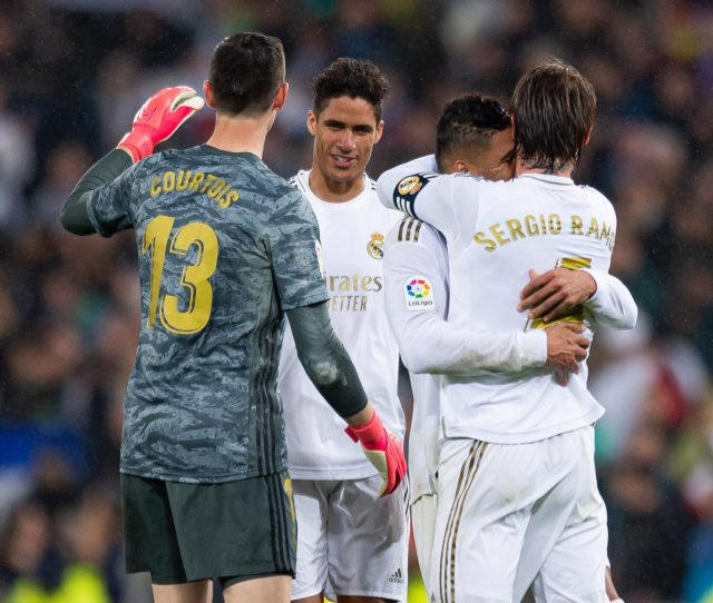 Laliga Suspended As Real Madrid Players Told To Self Isolate Over