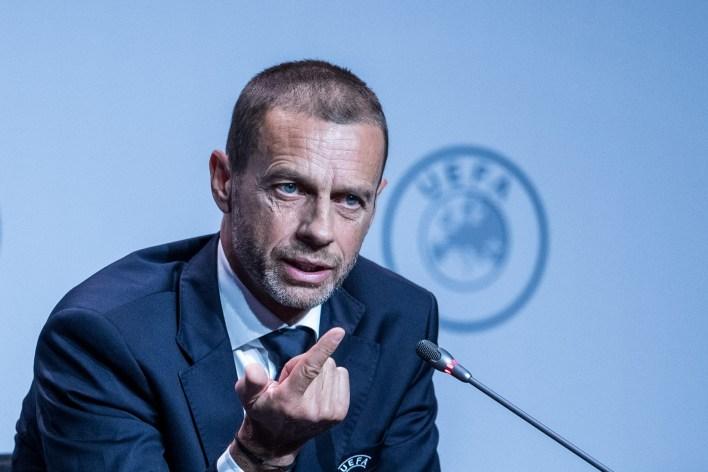 Ceferin, UEFA'nın kararının mantığını açıkladı