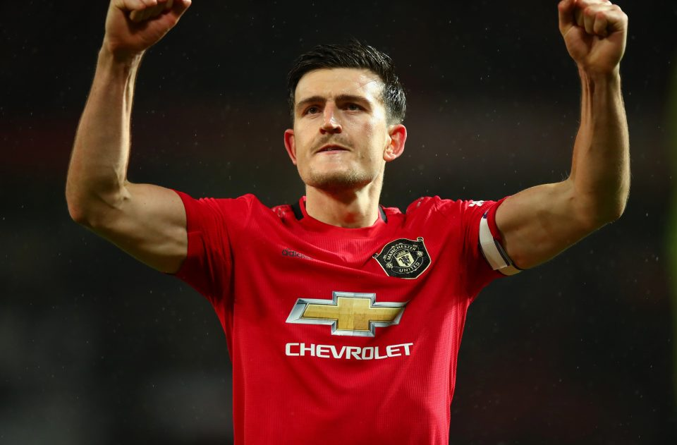 £ 85m man Harry Maguire is United captain after joining last summer