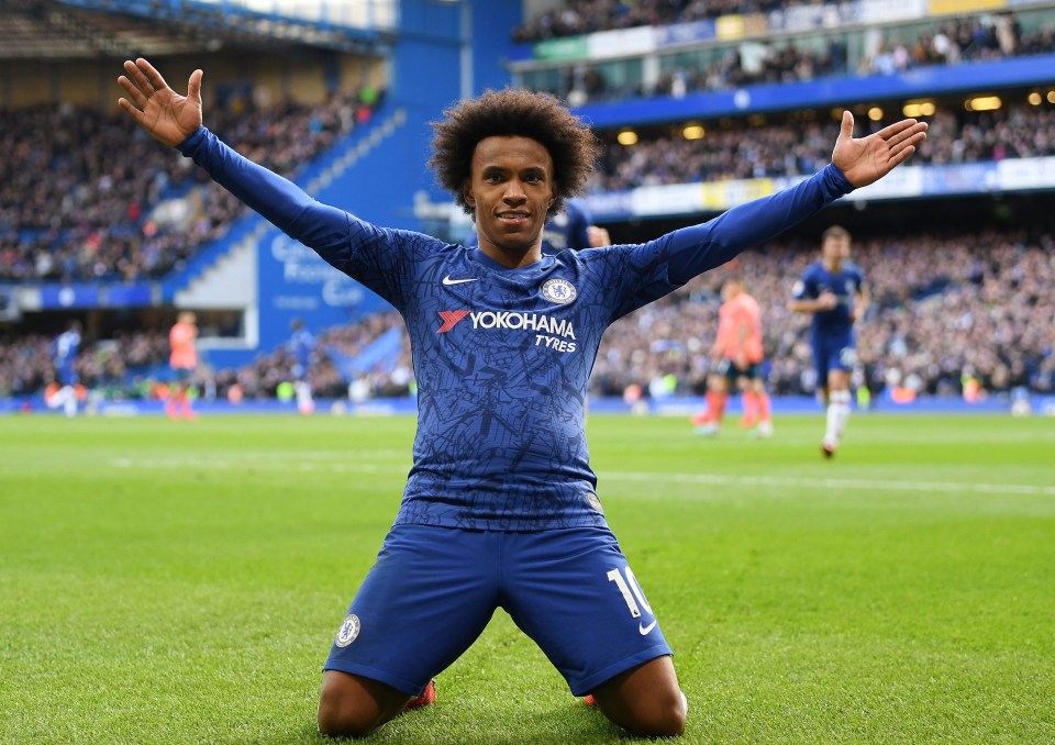Willian Promises To Play On For Chelsea Even If