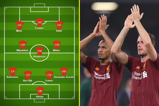 How Liverpool should line up against Atletico Madrid - why ...