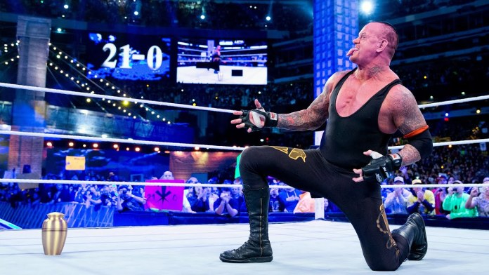 Undertaker's 21-0 streak at WrestleMania transcends sports
