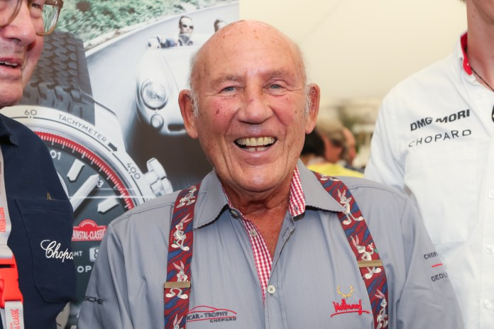 Sir Stirling Moss died on Sunday at the age of 90 after a long battle with illness