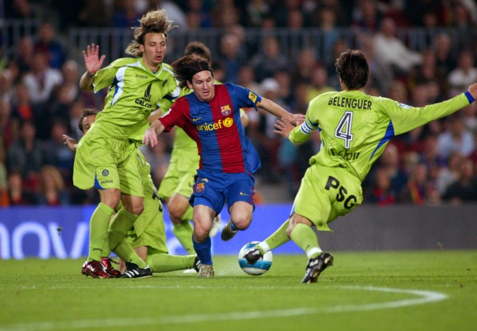 None of them beat this goal against Getafe
