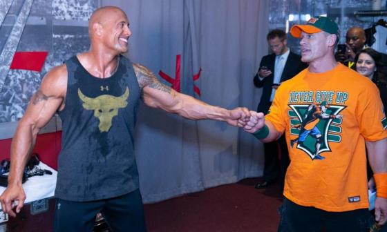 Rock says John Cena is now one of his best friends