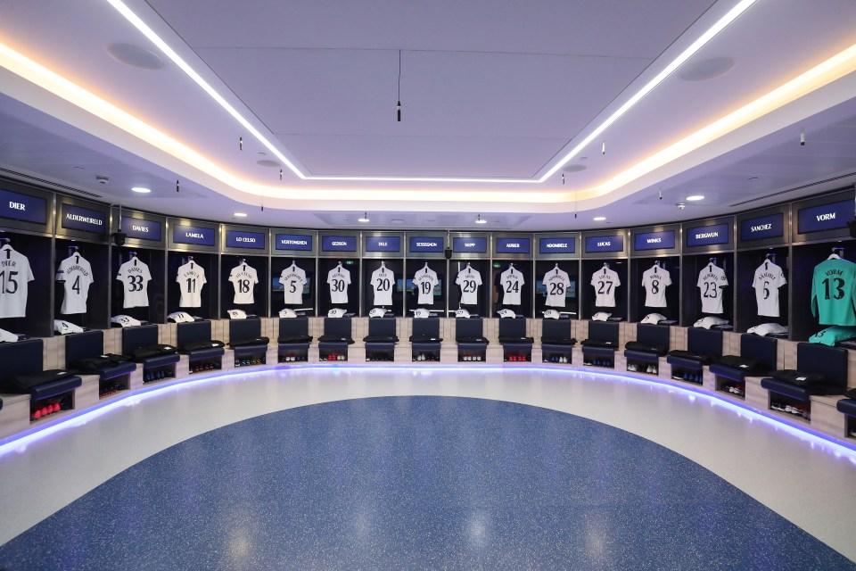 Tottenham Hotspur dressing rooms to host Anthony Joshua and Oleksandr Usyk on September 25