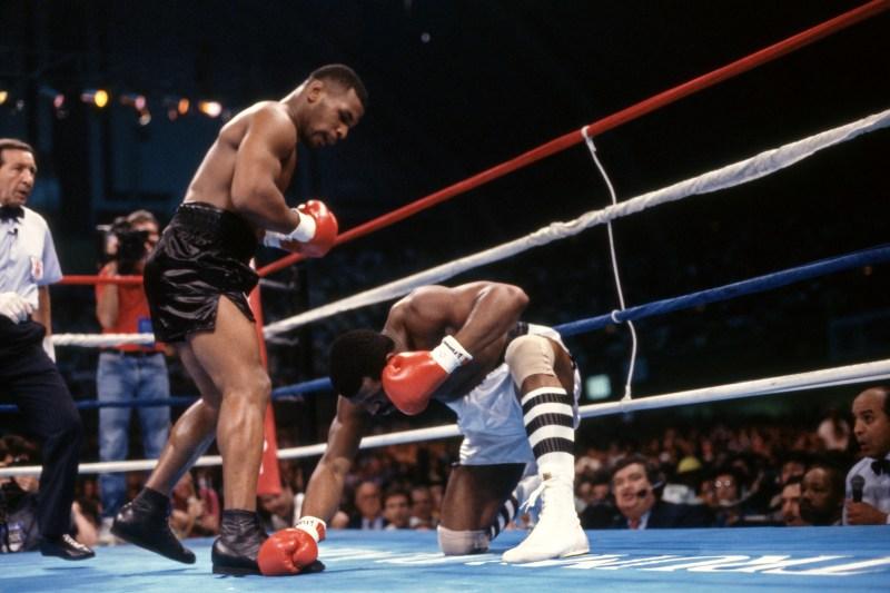 Spinks was a dangerous heavyweight, but Tyson made light work of him