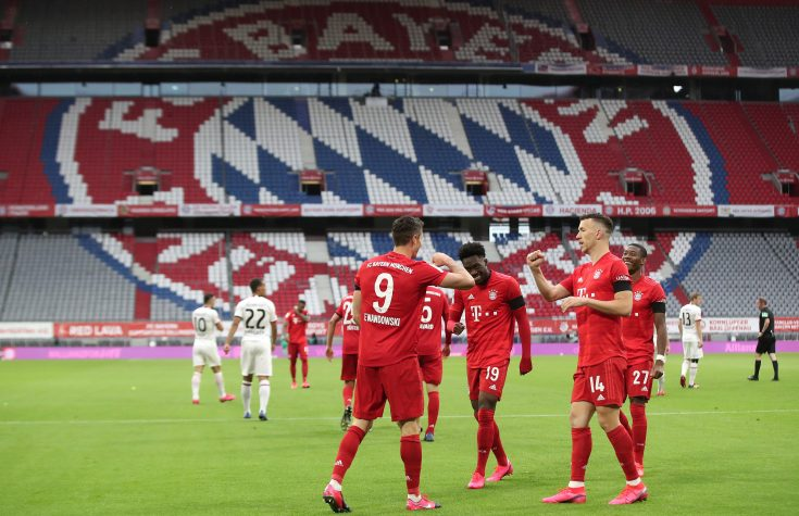 Bundesliga matches have been strange to watch without fans