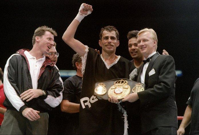 Hernandez was dethroned by Mayweather in 1998
