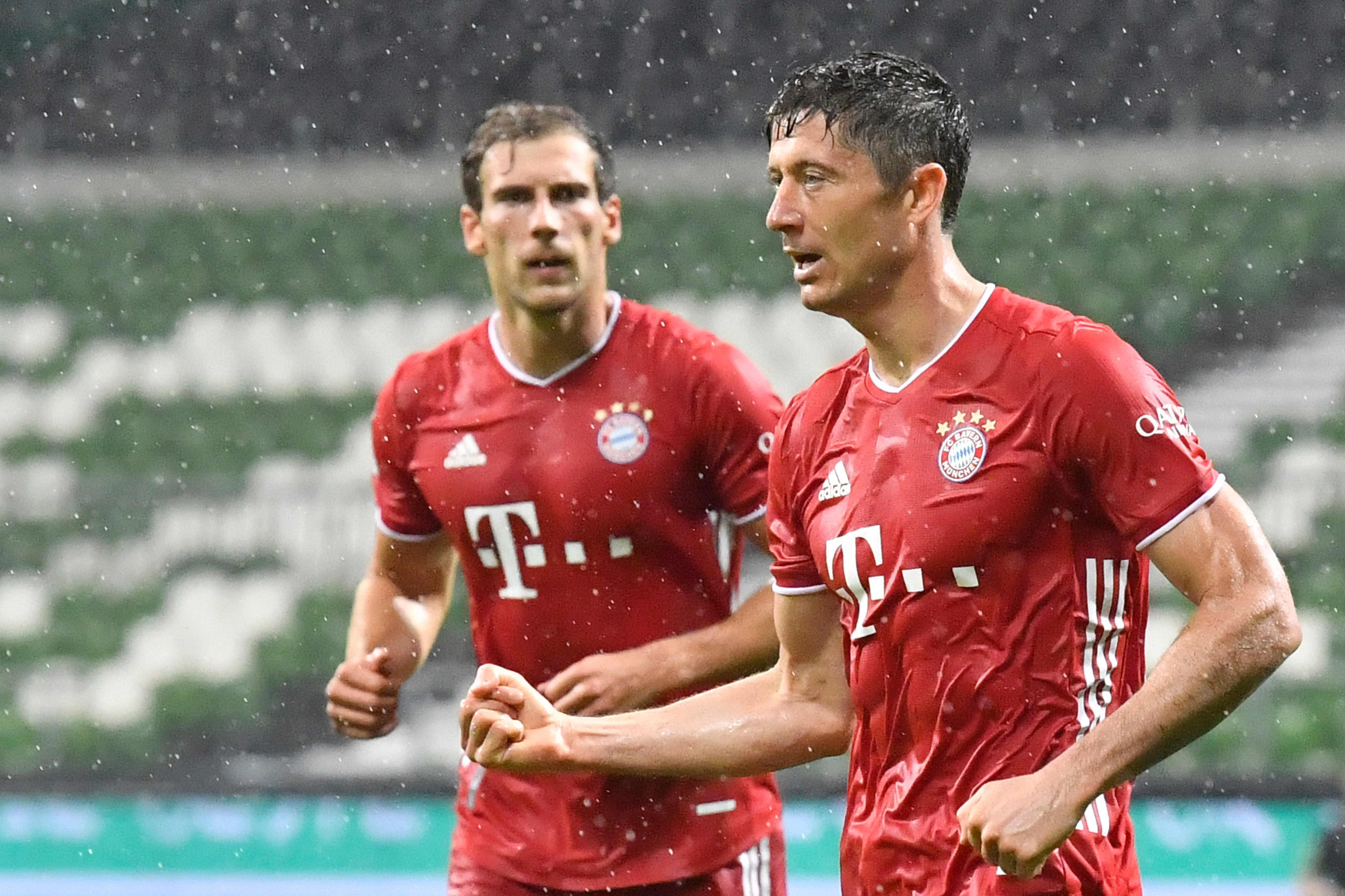 Bayern Munich win EIGHTH straight Bundesliga title as Robert Lewandowski goal seals victory at Werder Bremen thumbnail