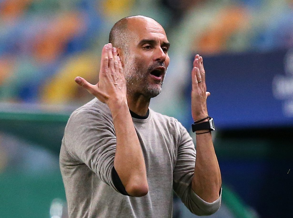 Man City boss Pep Guardiola accused of trying to be too clever as tactical gamble backfires against Lyon thumbnail