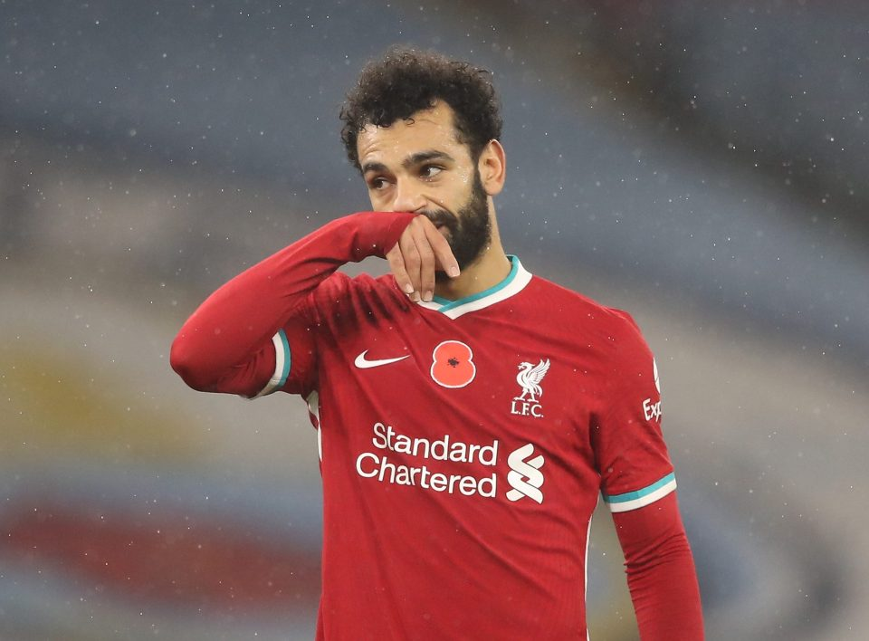 Mohamed Salah will not be part of the Liverpool squad against Leicester