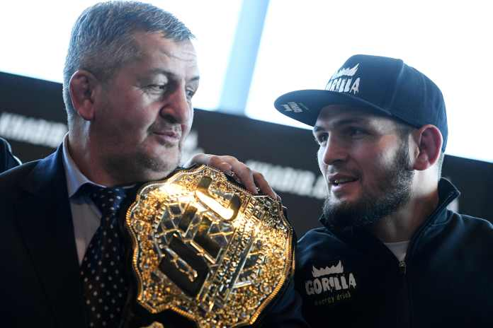 Abdulmanap trained his son to UFC title glory
