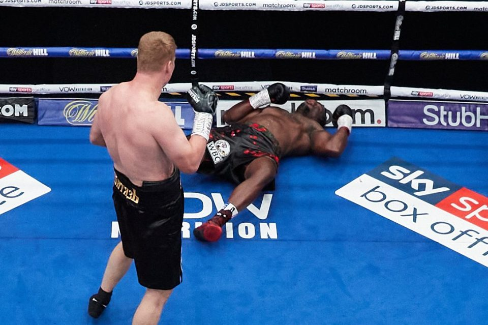 Povetkin stunned Whyte in their first fight and they clashed on March 27