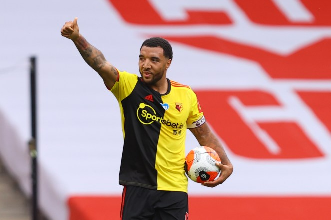 Tory Deeney will be looking to get Watford back into the Premier league this season