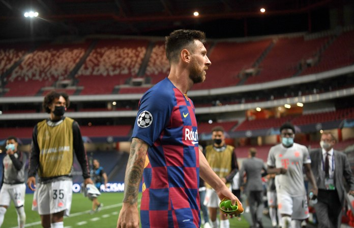 Messi has been a loyal player to Barcelona until now