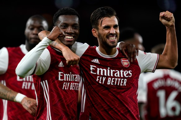 Dani Ceballos and Eddie Nketiah combine for winning goal against Arsenal  against West Ham a week on from bust-up before Fulham game