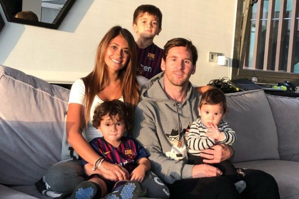 Lionel Messi reveals seven-year-old son cried and pleaded with him to stay at Barcelona, while wife suffered too