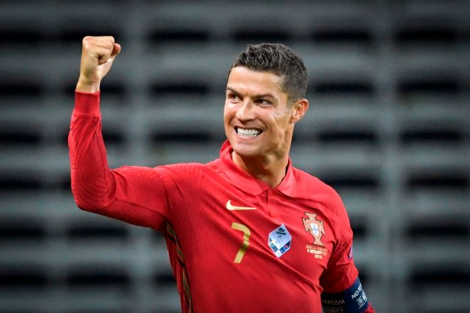 Ronaldo is 35 but showing no signs of slowing down