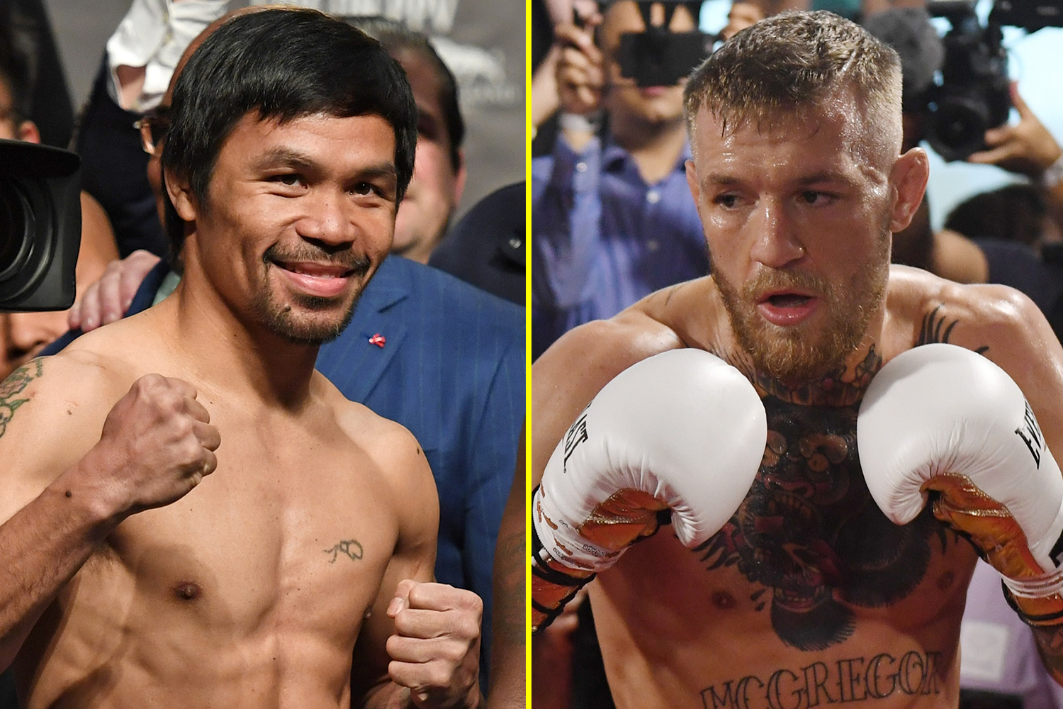 Manny Pacquiao CONFIRMS huge fight with Conor McGregor after UFC icon's explosive tweets revealing Dana White thumbnail