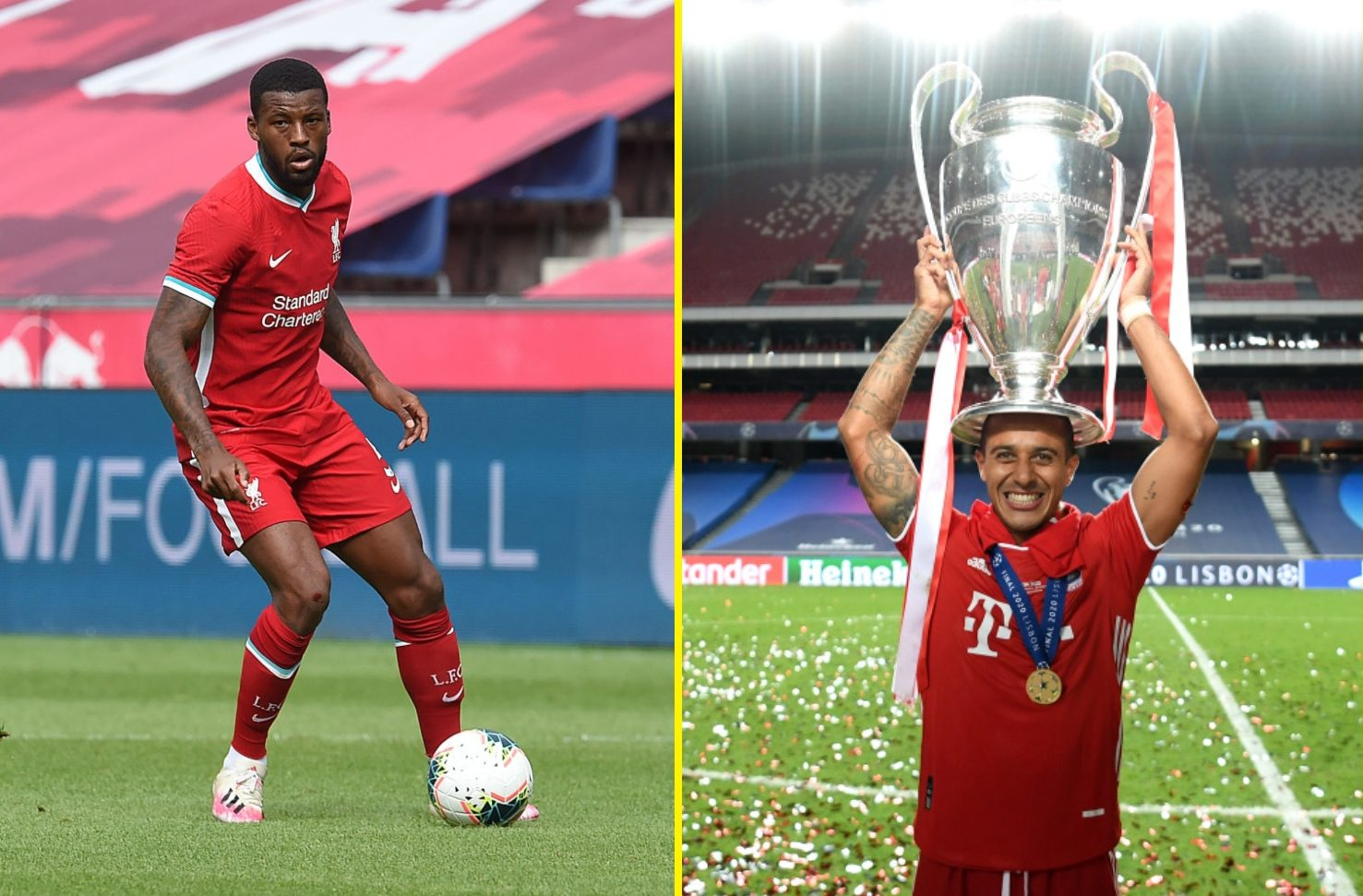 Liverpool given boost in pursuit of Thiago as Bayern Munich target Inter Milan star as replacement – but W thumbnail