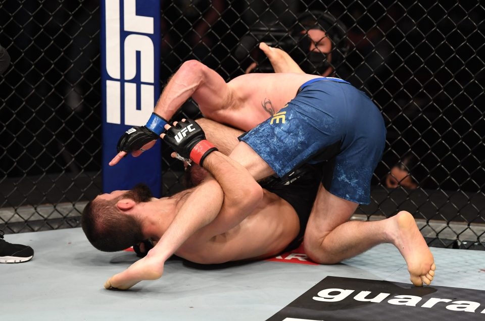 Triangular choke secured third consecutive bid for Khabib on Gaethje