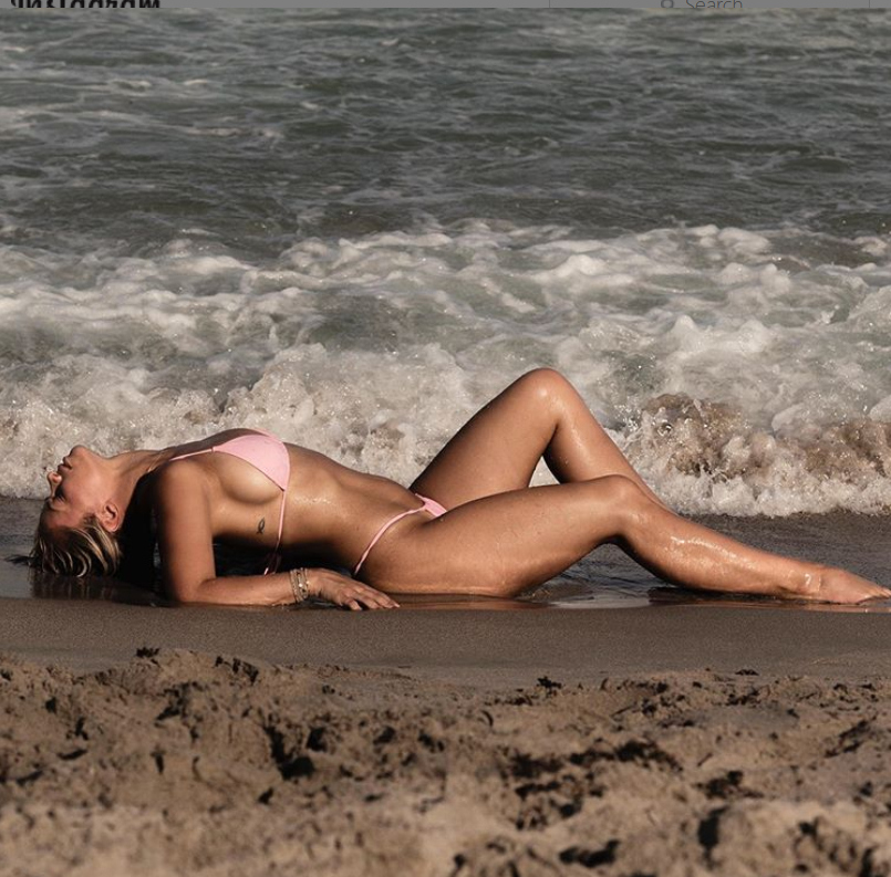 VanZant and husband Austin Vanderford participate in partially nude photoshoots on a regular basis