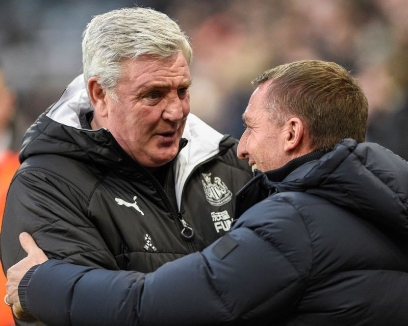 Steve Bruce backs Brendan Rodgers' claims about British managers, Newcastle  boss refers to Sam Allardyce's 'Allardicio' comments