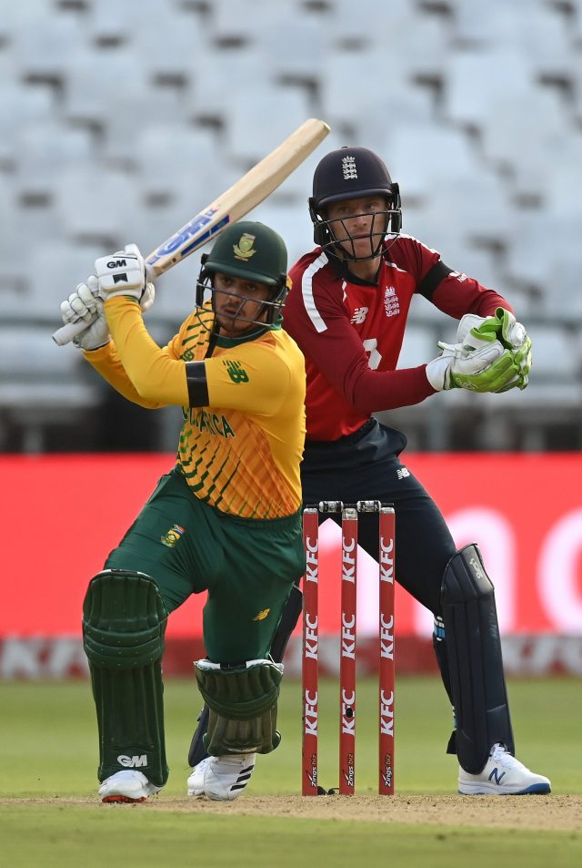 Quinton de Kock and Faf du Plessis were predictably productive in a stand of 77 in 51 balls