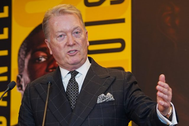 Warren told talkSPORT that a fight announcement is imminent