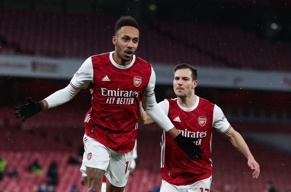 Aubameyang has scored 81 goals in 134 games for Arsenal