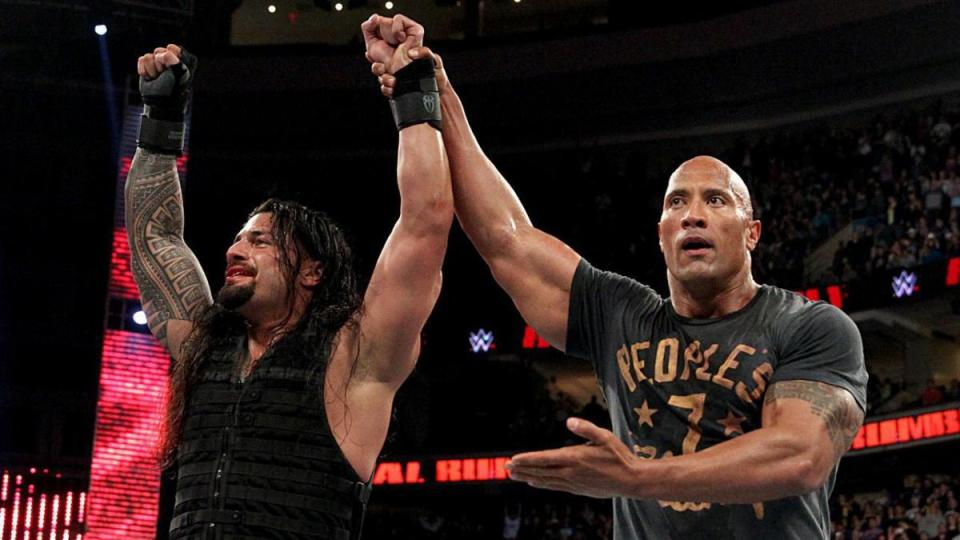 Reigns and The Rock are true cousins
