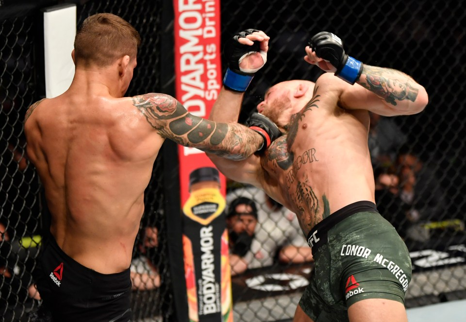 Dustin Poirier destroyed Conor McGregor earlier this year
