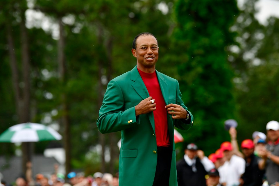 Woods won the Masters in 2019 to win his 15th major title