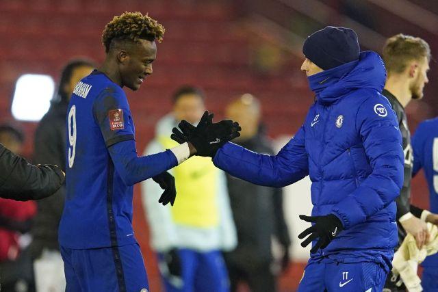 Abraham is leading Chelsea's scoring charts this season