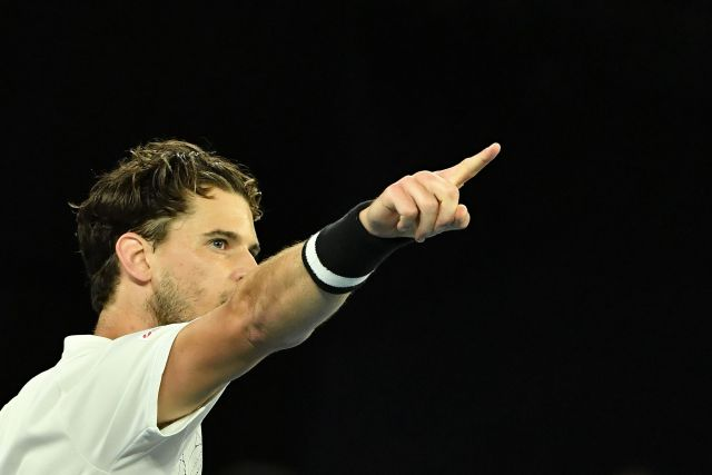 World No.3 Thiem just never knows when he's beaten